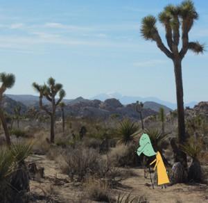 i In der Wüste